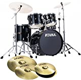 Tama Imperial Star ip50h6 di HBK Hair Black Line Percussioni + Paiste 101 14hh/16/20'