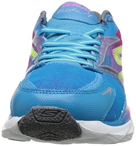 Skechers Go Run Ride 4, Chaussures de sport femme Turquoise/Multi