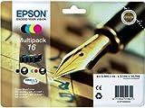 Epson 16 Series Multi Pack Ink Cartridges - Black/ Cyan/ Magenta/ Yellow