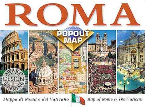 Rome. Popout Map
