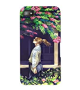 Ebby Premium Printed Mobile Back Case Cover With Full protection For Blackberry Z10 (Designer Case)