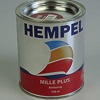 Incluso erodierende–Pintura antiincrustante HEMPEL Mille Plus 750ml, Rojo