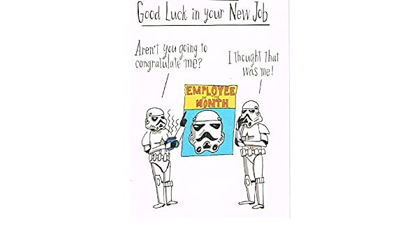 Hallmark Star Wars Good Luck CardLittle Hairy Medium