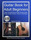Best Guitar Instruction Books - Guitar Book for Adult Beginners: Teach Yourself How Review