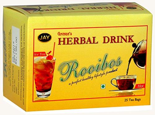 Jay Te-A-Me Teas Rooibos Infusion Tea, 25 Tea Bags