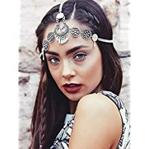 7022b0bc50603e Haarschmuck mit Strass von Handmadejewelrylady, Kopf-Kette für Frauen