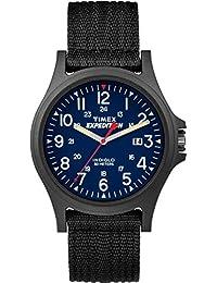 Timex Unisex-Armbanduhr Timex Acadia Analog Quarz Textil TW4999900