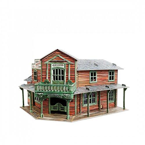 Clever Paper- Saloon Puzle 3D, Color Variado (87)