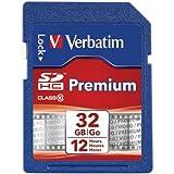 ver96871–Verbatim 32GB Premium SDHC Speicherkarte, UHS-I class 10