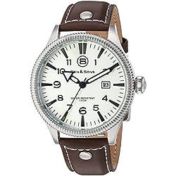 Ben & Sons-Herren-Armbanduhr-BS-10019-02-BRW