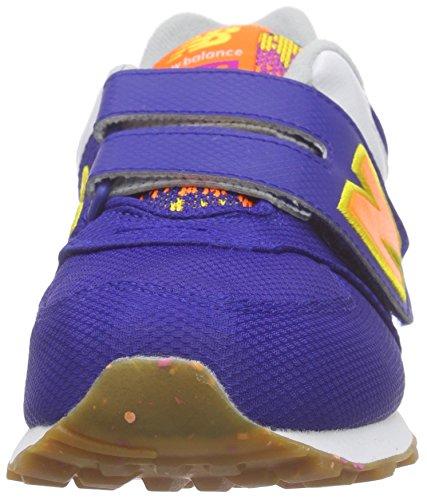 New Balance Nbkv574t5p, Scarpe Low-Top Unisex – Bambini Multicolore (Blue/Pink/Orange)