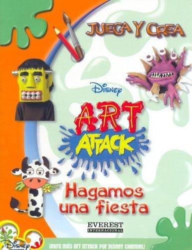 Hagamos una Fiesta (Juega y Crea Disney Art Attack)