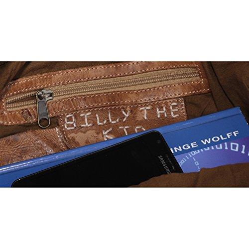 Billy the Kid Kate Sac à main porté épaule cuir 37 cm dust