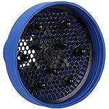 Golpe Secador De Pelo Difusor De Silicona Portátil Retráctil Azul Plegable