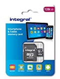 Integral 128 GB microSDXC Class 10 Memory Card for