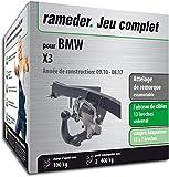 Rameder Attelage escamotable pour BMW X3 + Faisceau 13 Broches (159897-08763-1-FR)