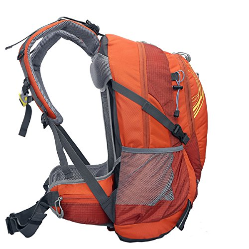 Neuer Im Freien Schulter Tasche Groß Kapazität Sport Rucksack Orange