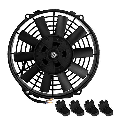 Suuonee Auto fan, 12 V 24 V 80 Watt 9 inch GM klimaanlage elektronische motor lüfter auto teile für motorrad auto schlafzimmer -