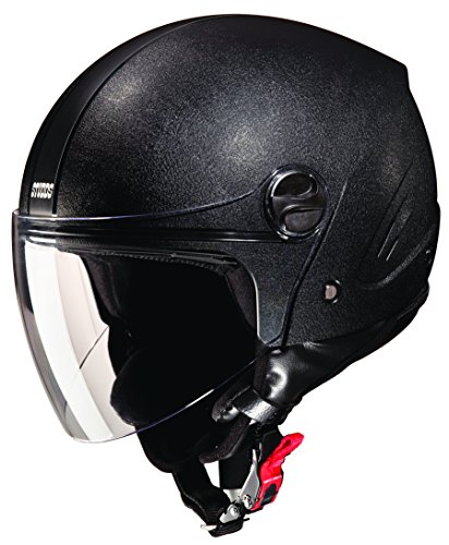 Studds Track SUS_TPOFH_BLKL Open Face Helmet (Plain Black, L)  available at amazon for Rs.864