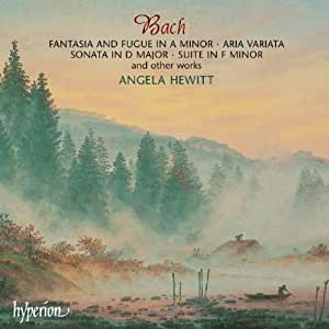 Bach : Fantasia and Fugue in A minor / Aria Variata / Sonata in D major / Suite in F minor