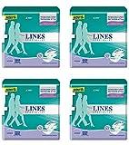 4 X pannolini Lines specialist Grandi pannoloni a mutandina per adulti incontinenza maxi