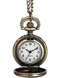 Hiwatch Reloj de Bolsillo Reloj Vintage Reloj de Mecanico Reloj Decorativo para Mujer