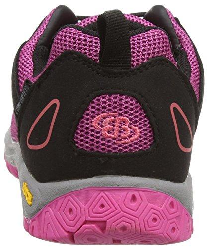Brütting Atlanta, Chaussures de randonnée fille Violet - Violett (lila/schwarz/pink)