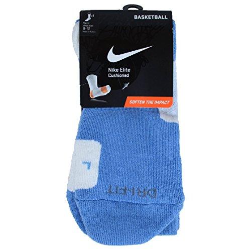 Nike Crew Socks Hyperelite Basketball University Blue/White/White