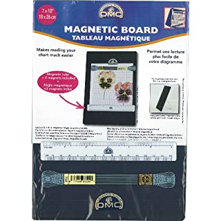 DMC Magnetic Board Small, Metal, White, 21 x 1 x 27 cm