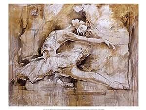 Marta Gottfried Wiley – Le lac des cygnes Impression d'art Print (40,01 x 29,85 cm)
