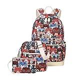 All Seasons Rucksack & Shoulder Bag & Handtasche Set für Erwachsene/Jugendliche