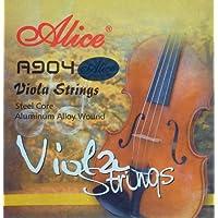 Alice con cuerdas de acero Set para viola/viola