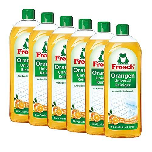 6x Frosch Orangen Universal Reiniger 750 ml