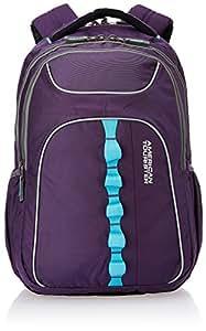 American Tourister 24 Lts Polyester Purple Laptop Bag (29W (0) 50 001)