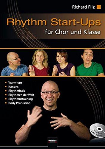 Klasse Sammlung (Rhythm Start-Ups für Chor und Klasse: inkl. DVD mit Lehr-Videos)