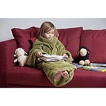 Plaid Con Maniche Per Bambini.Amazon It Coperta Con Maniche Verde