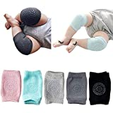 SellBotic 2 Pair Baby Knee pad Kids Safety Crawling Elbow Cushion Infant Toddlers Baby Leg Warmer Knee Support Protector…