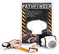 PATHFINDER 21 LED Headlamp Headlight Head Torch – Adjustable Strap and Beam Angle - BLACK by PATHFINDER