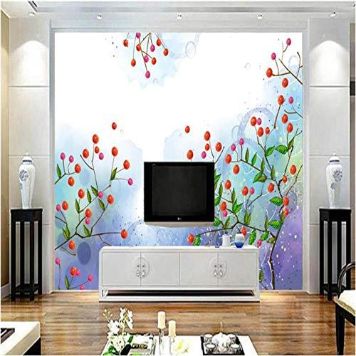 Makeyong Personnalisé Photo Fonds D'Écran Avec Des Fleurs Rêve Petite Fleur Haute Qualité Moderne 3D Papier Peint Tv Fond Étude Cuisine Murale Mural-350X245cm