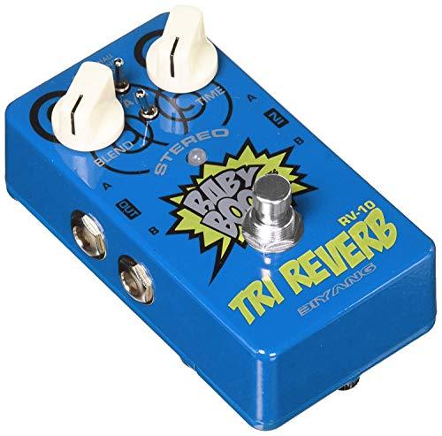Biyang RV10 Hall Reverb Effekte Pedal (Mit Amp Electric Guitar Effekten)