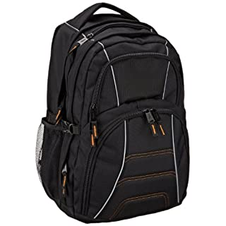 AmazonBasics Laptop Computer Backpack - Fits most 17 Inch/43 cm Laptops - Black