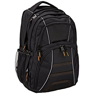 22744e40ac (CERTIFIED REFURBISHED) AmazonBasics Laptop Backpack – Fits Up To 17-Inch  Laptops