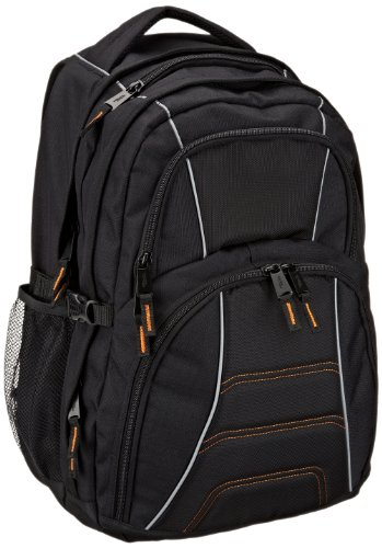 AmazonBasics Laptop Backpack – Fits Up To 17-Inch Laptops