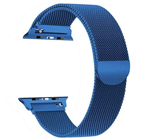 Die besten Geschenke von Valentine !!! Beisoug Milanese Edelstahl-Uhrenarmband für Apple Watch Series 4 44MM
