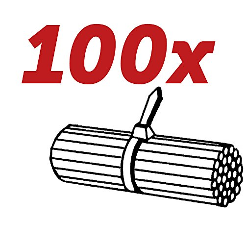 100x HELLA Original Kabelbinder 8HL 717 962-011