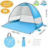 Pop up Tent, SLB Large Pop up Beach Tent, Automatic Sun Shelter