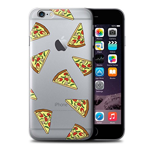 Stuff4 Hülle / Case für Apple iPhone 6+/Plus 5.5 / Pizza Muster / Stück Lebensmittel Kollektion Pizza