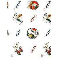 Carta colorata a tema con tutte le principali ricorrenze ideale per confezioni e pacchi Scatola da 100 fogli stampati con disegni assortiti e fantasie generiche Carta regalo stampata