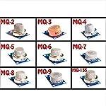 SUNLEPHANT@MQ Series Kit MQ-2 ~ MQ-135 9 gas sensor modules from GlobalYi