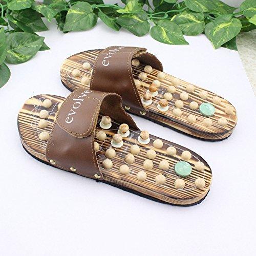DMXY-massage des pieds massage unique slipper slipper point en bois,des soins de santé 38 38